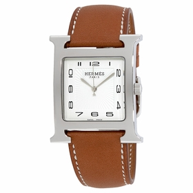 Hermes 036833WW00 H Hour Ladies Quartz Watch