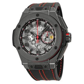 Hublot 401.CX.0123.VR Big Bang Ferrari Mens Chronograph Automatic Watch