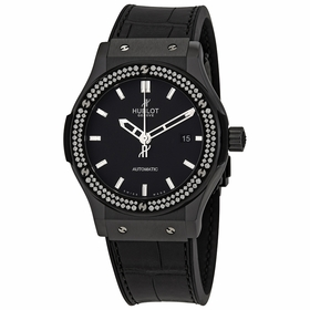 Hublot 542.CM.1170.LR.1104 Classic Fusion Black Magic Mens Chronograph Automatic Watch