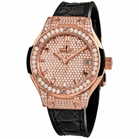 Hublot 581.OX.9010.LR.1704 Classic Fusion Ladies Quartz Watch