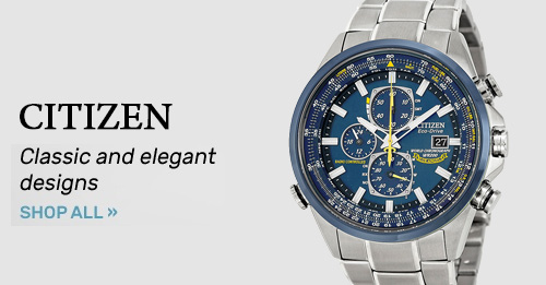 Citizen : Classic and elegant designs | Shop Now