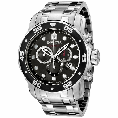 Invicta 0069 Pro Diver Mens Chronograph Quartz Watch
