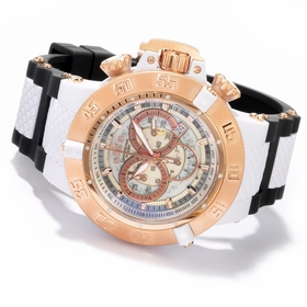 Invicta 0931 Anatomic Subaqua Mens Chronograph Quartz Watch