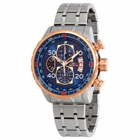 Invicta 17203 Aviator Mens Chronograph Quartz Watch