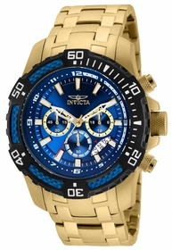 Invicta 24856 Pro Diver Mens Chronograph Quartz Watch