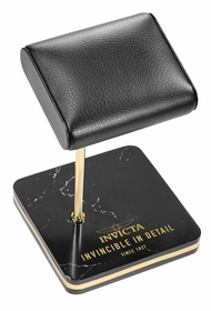 Invicta Watch Stand, Black and Gold 34502