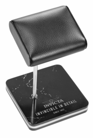 Invicta Watch Stand, Black and Steel 34501