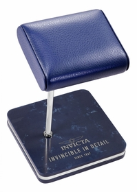 Invicta Watch Stand - Blue and Steel 34505