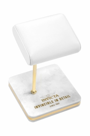Invicta Watch Stand - White and Gold 34499