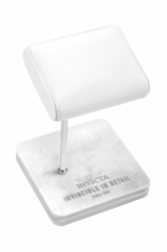 Invicta Watch Stand - White and Steel 34498