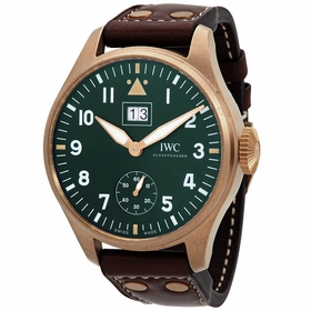 IWC IW510506 Big Pilot Big Date Spitfire Mission Accomplished Mens Hand Wind Watch