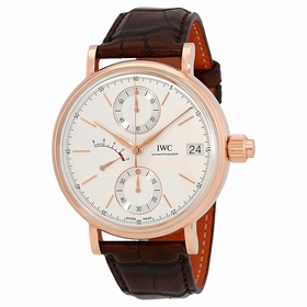 IWC IW515104 Portofino Monopusher Mens Chronograph Hand Wind Watch