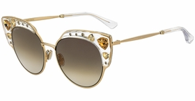Jimmy Choo AUDREY/S REJ 54  Ladies  Sunglasses