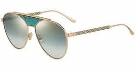 Jimmy Choo AVE/S PEF 58  Ladies  Sunglasses