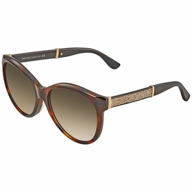 Jimmy Choo GLEE/F/S 016Y 57  Ladies  Sunglasses