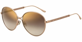 Jimmy Choo NEVA/F/S BKU 60  Ladies  Sunglasses