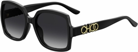 Jimmy Choo SAMMI/G/S 807 55  Ladies  Sunglasses