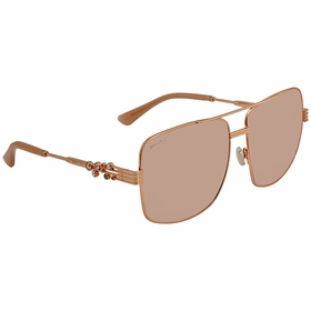 Jimmy Choo TONIA/S BKU 61  Ladies  Sunglasses