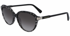 Longchamp LO640S 010 56  Ladies  Sunglasses