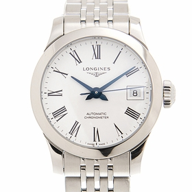 Longines L2.320.4.11.6 Record Ladies Automatic Watch