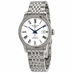 Longines L2.321.4.11.6 Record Ladies Automatic Watch