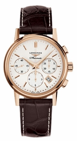 Longines L2.733.8.72.2 Column Wheel Mens Chronograph Automatic Watch