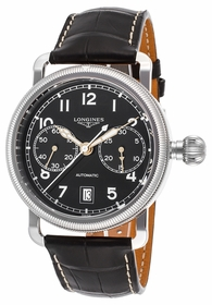 Longines L2.783.4.53.2 Heritage Mens Chronograph Automatic Watch