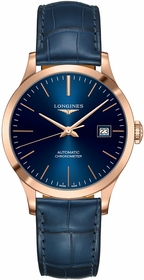 Longines L2.820.8.92.2 Record Unisex Automatic Watch