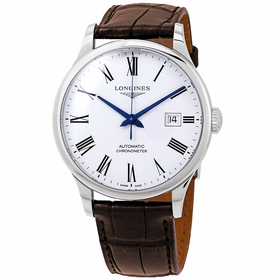 Longines L2.821.4.11.2 Record Collection Mens Automatic Watch