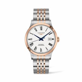 Longines L2.821.5.11.7 Record Mens Automatic Watch