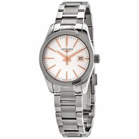 Longines L2.286.4.72.6 Conquest Classic Ladies Quartz Watch