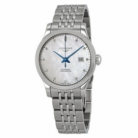 Longines L2.321.4.87.6 Record Ladies Automatic Watch