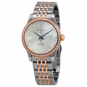 Longines L2.321.5.89.7 Record Ladies Automatic Watch