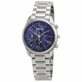 Longines L26734926 Master Collection Complete Calendar Mens Chronograph Automatic Watch