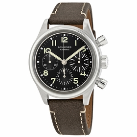 Longines L28164532 Avigation Bigeye Mens Chronograph Automatic Watch