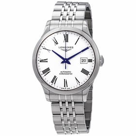 Longines L28204116 Record Mens Automatic Watch