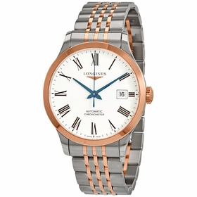 Longines L28205117 Record Mens Automatic Watch