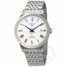 Longines L28214116 Record Mens Automatic Watch