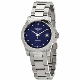Longines L3.377.4.97.6 Conquest Ladies Quartz Watch