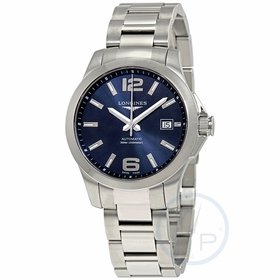 Longines L3.776.4.99.6 Conquest Mens Automatic Watch