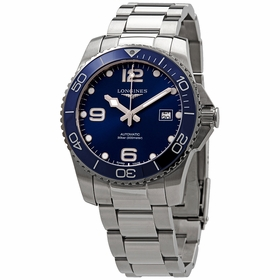 Longines L3.781.4.96.6 Hydroconquest Mens Automatic Watch