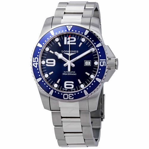 Longines L3.841.4.96.6 HydroConquest Mens Automatic Watch