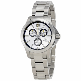 Longines L33794786 Conquest Unisex Chronograph Quartz Watch