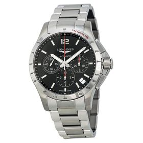 Longines L36974566 Conquest Mens Chronograph Automatic Watch