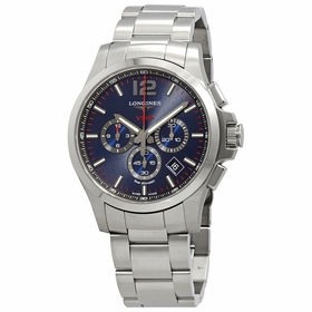 Longines L37274966 Conquest V.H.P. Mens Chronograph Quartz Watch