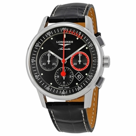 Longines L4.754.4.52.4 Heritage Mens Chronograph Automatic Watch