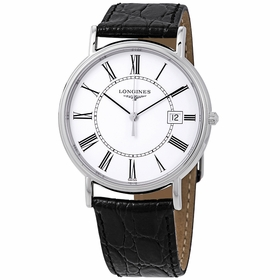 Longines L4.790.4.11.2 Presence Mens Quartz Watch
