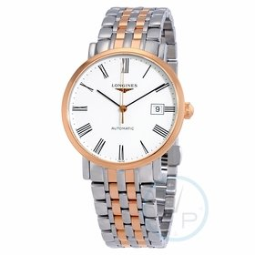 Longines L48105117 Elegant Mens Automatic Watch