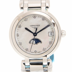 Longines L8.115.4.87.6 Prima Luna Unisex Quartz Watch