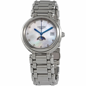 Longines L8.116.4.87.6 PrimaLuna Ladies Quartz Watch